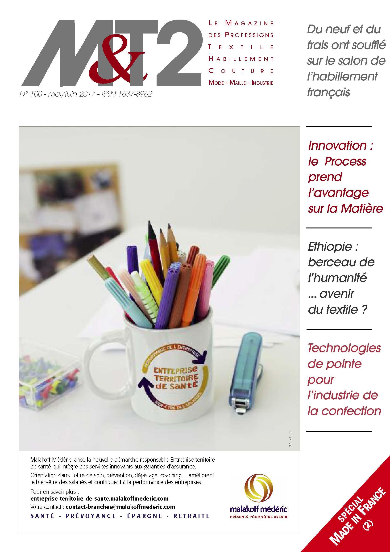 Magazine M&T2 – Numéro 100 Spécial Made In France
