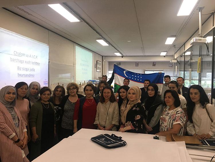 Formation continue à l'international : les entreprises d'Ouzbékistan à l'AICP